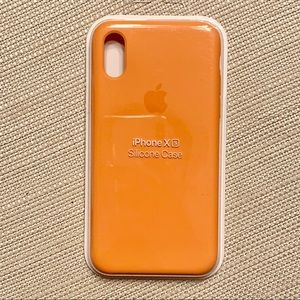iPhone X/XS Apple Silicone Case (Papaya)